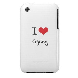 Amo el llorar iPhone 3 protector