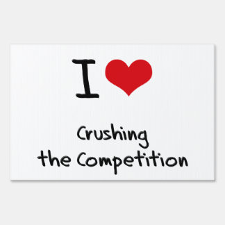 Amo el machacar de la competencia