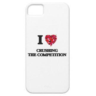 Amo el machacar de la competencia iPhone 5 funda
