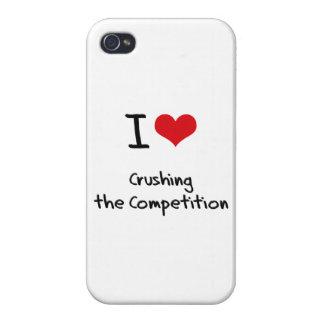 Amo el machacar de la competencia iPhone 4/4S funda
