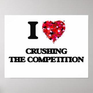 Amo el machacar de la competencia póster