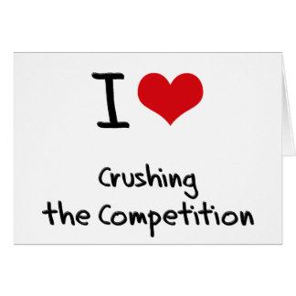 Amo el machacar de la competencia felicitacion