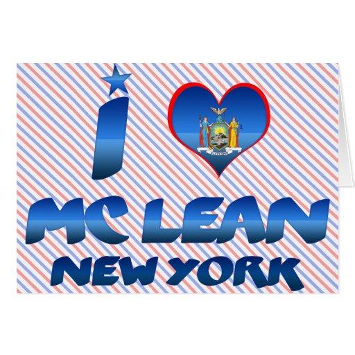 Amo el magro de Mc, Nueva York Felicitacion