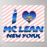 Amo el magro de Mc, Nueva York Poster