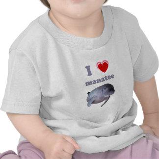 Amo el Manatee Camisetas