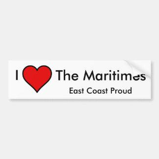 Amo el Maritimes Pegatina Para Auto