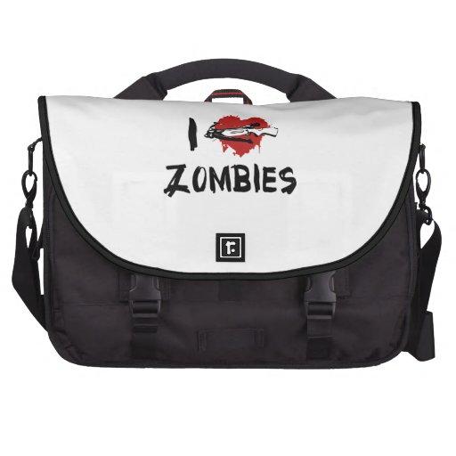 Amo el matar de zombis bolsas para portatil