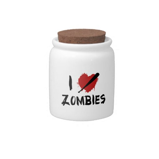 Amo el matar de zombis platos para caramelos