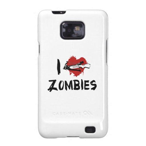 Amo el matar de zombis samsung galaxy SII funda