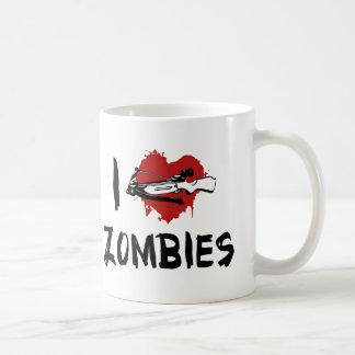 Amo el matar de zombis tazas