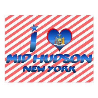 Amo el mediados de Hudson, Nueva York Postal