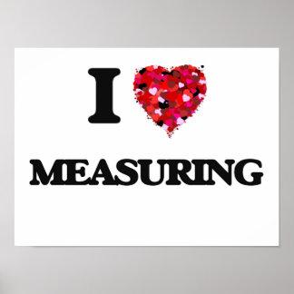 Amo el medir póster