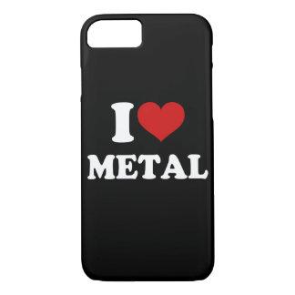 Amo el metal funda iPhone 7