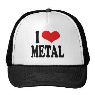 Amo el metal gorra
