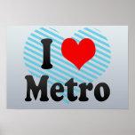 Amo el metro, Indonesia Posters