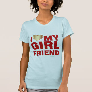 Amo el mi novia día de San Valentín corazón 14 de  Camisetas