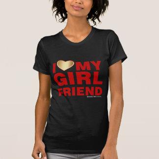 Amo el mi novia día de San Valentín corazón 14 de  Camiseta