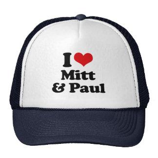 AMO el MITÓN Y PAUL.png Gorras De Camionero