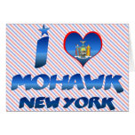 Amo el Mohawk, Nueva York Felicitación