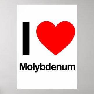 amo el molibdeno posters