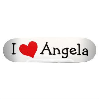 Amo el monopatín de Angela
