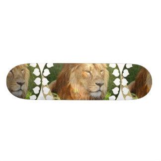 """Amo el monopatín de los leones patineta 8 1/8"""""""