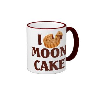 Amo el Mooncake Taza De Dos Colores
