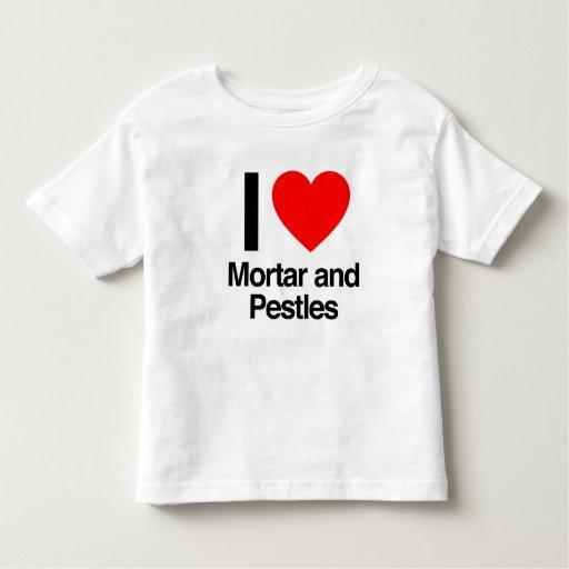 amo el mortero y las majas t shirts
