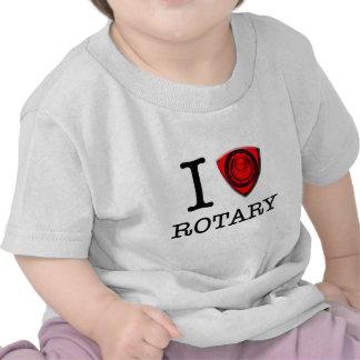Amo el motor rotatorio camisetas