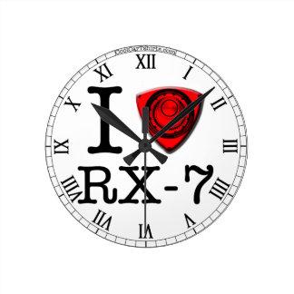 Amo el motor rotatorio - reloj