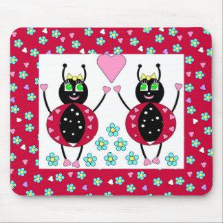 Amo el mousepad de las mariquitas