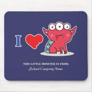 Amo el mousepad rojo de la monstruosidad (las oscu