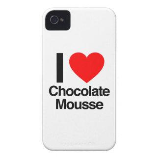 amo el mousse de chocolate Case-Mate iPhone 4 funda