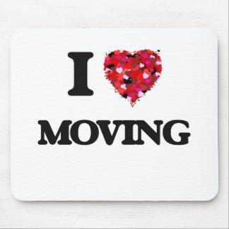 Amo el moverme mouse pad