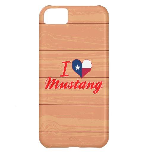 Amo el mustango, Tejas Funda Para iPhone 5C