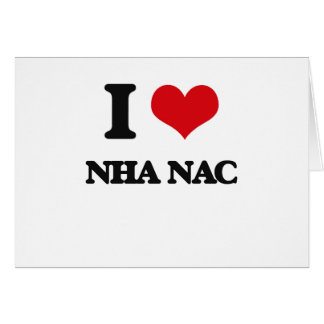 Amo el NAC de NHA Felicitación