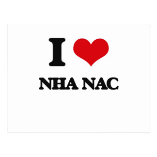 Amo el NAC de NHA Tarjetas Postales