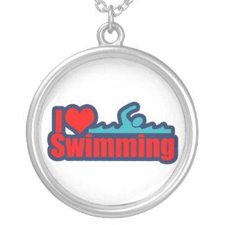 Amo el nadar grímpola