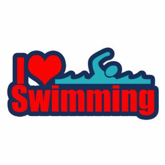Amo el nadar esculturas fotograficas