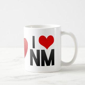 Amo el nanómetro taza de café