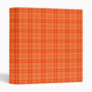 Amo el naranja de la tela escocesa