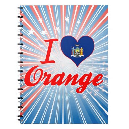 Amo el naranja, Nueva York Libretas