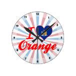 Amo el naranja, Nueva York Relojes