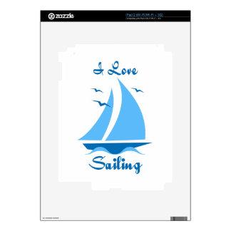 Amo el navegar calcomanía para el iPad 2