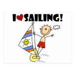 Amo el navegar de las camisetas y de los regalos tarjetas postales