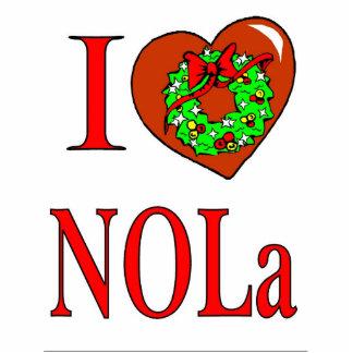 Amo el navidad de NOLA Fotoescultura Vertical
