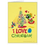 Amo el navidad - MARVIN el MARTIAN™ Felicitacion
