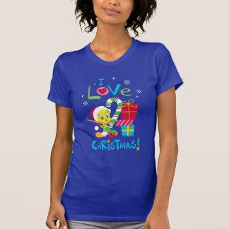 Amo el navidad - Tweety Camiseta