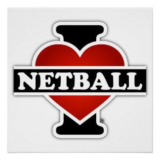Amo el Netball Perfect Poster