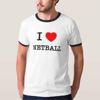 Amo el Netball Playera